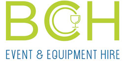 BCH Event & Equipment Hire Logo