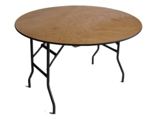5ft round table for events