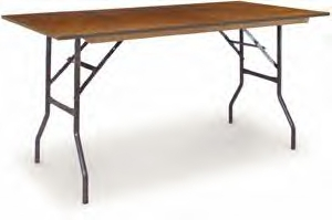 6ft x 2ft rectangular tables for events