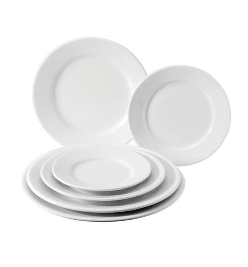 Classic White Plates