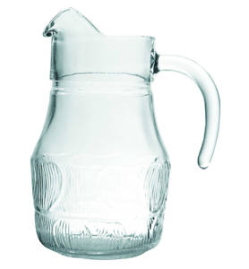 glass water jug 1Ltr for events