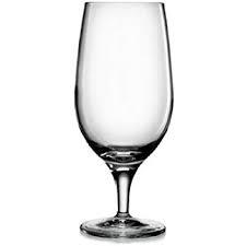 stemmed beer glass for events