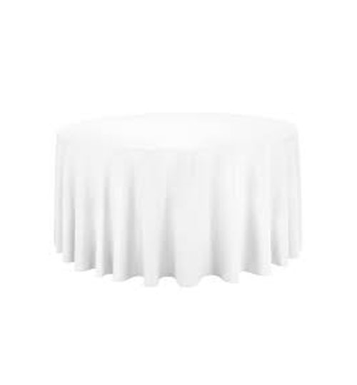 "table cloths 132"" round"