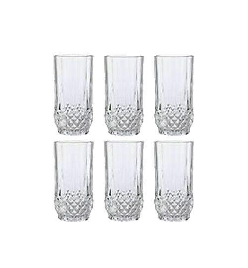 crystal high ball glasses
