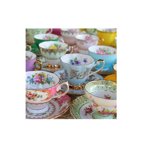 vintage china sets for events