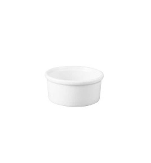 white ramekin for events