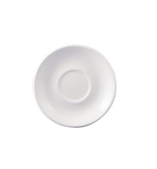 white dudson saucer