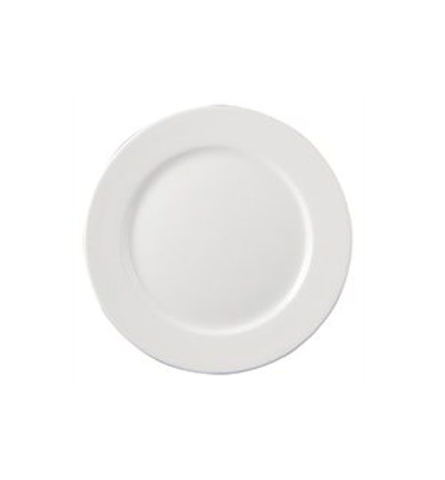 white side plate for events