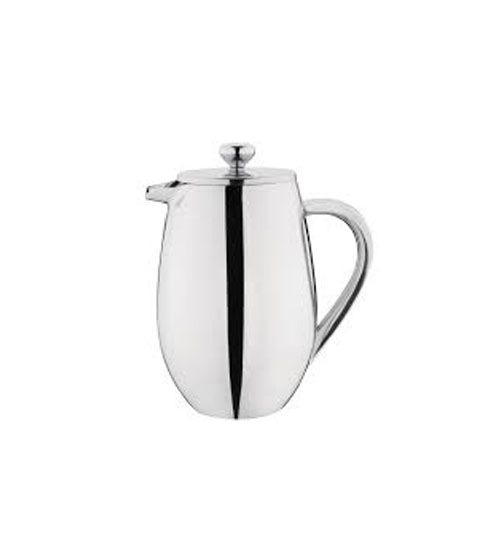 Cafetiere 12cup - brushed stainless