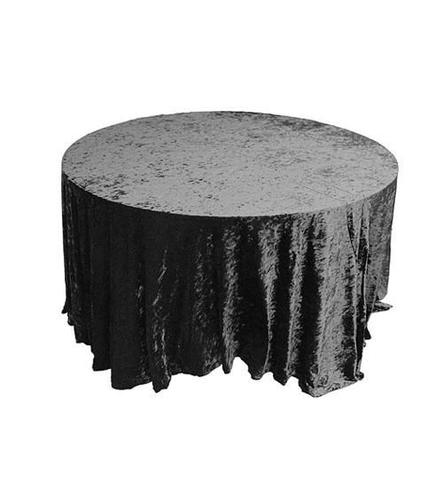 Crushed Velvet - Black