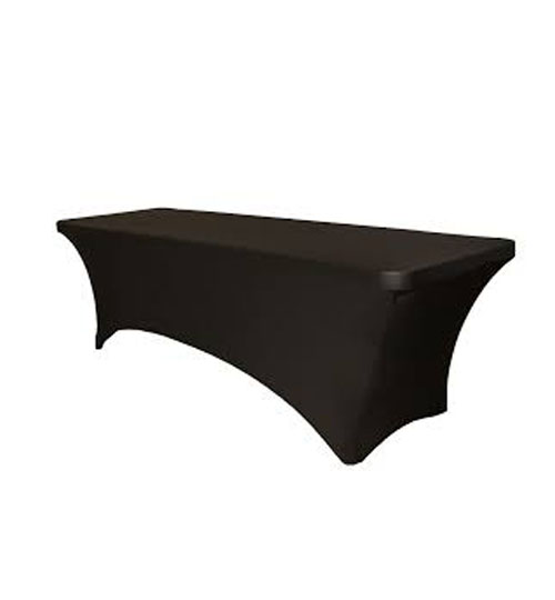 Spandex cover rectangular table