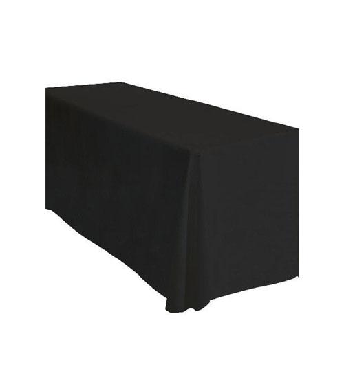"Black Linen 70"" x 120"""