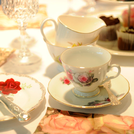 afternoon tea equipment hire package