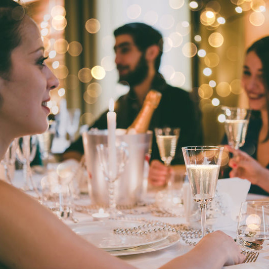 dinner party equipment hire
